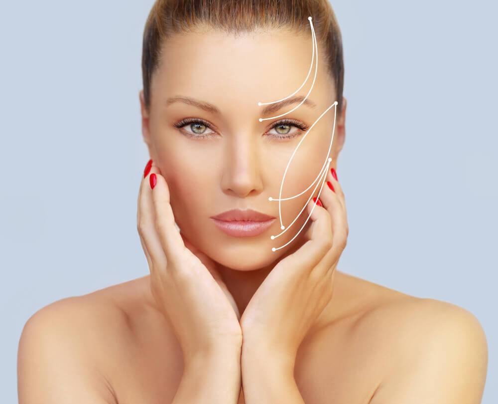 Idealne proporcje i symetria twarzy kluczem do piekna