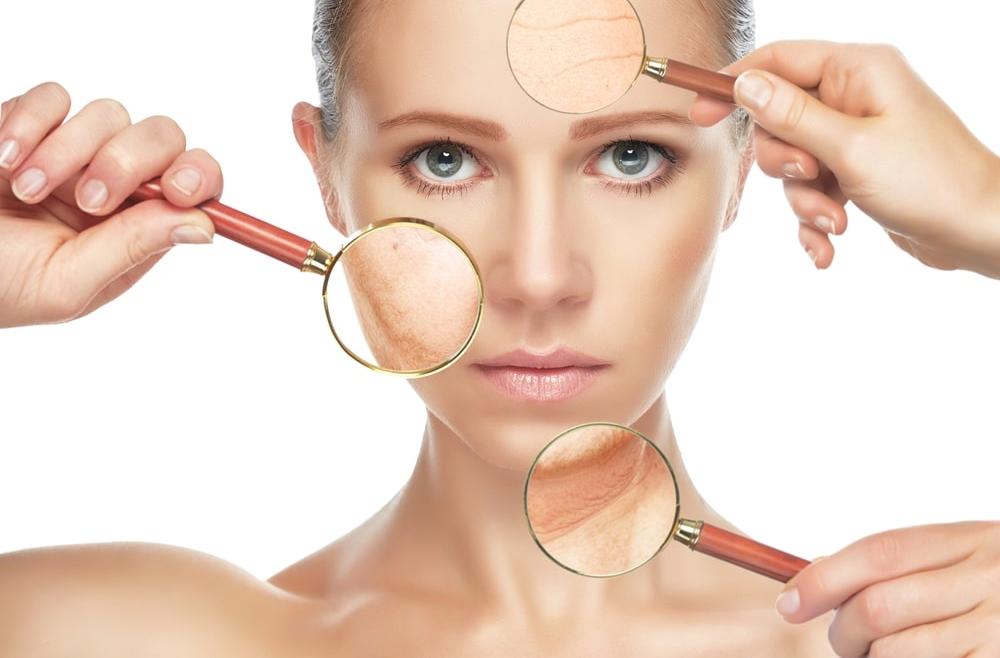 Usuwanie posłonecznych objawów starzenia się skóry
